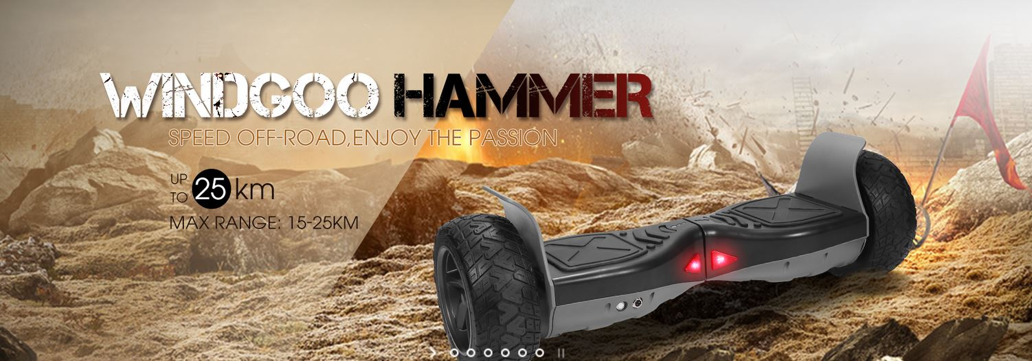 Hammer Hoverboard Scooter